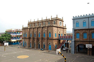 One Town (Visakhapatnam) - St Aloysius Anglo Indian High School (SAS) established in 1847 in One Town