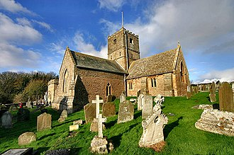 Broadchurch - St Andrew's Church in Clevedon serves as St. Bede's, the Broadchurch parish church.