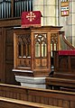 St Catherine, Dudden Hill Lane, London NW2 - Pulpit - geograph.org.uk - 1744117.jpg