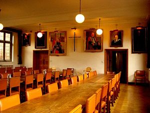 St Edmund's College, Cambridge - St Edmunds College, Dining Hall