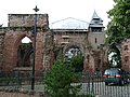 St John the Baptist Parish Church, Chester - remains of former east end east of present building 05.jpg