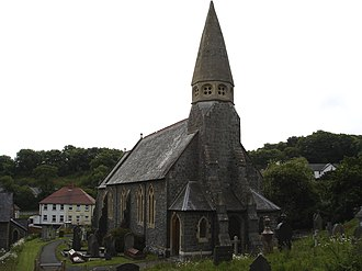 New Quay - St Llwchaiarn's Church