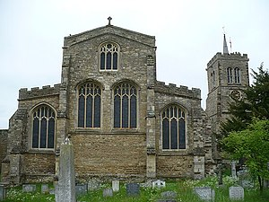 Elstow Abbey - Image: St Mary and Helena Parish Church, Elstow geograph.org.uk 823352