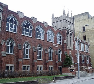 St. Michael's Choir School - Exterior view in 2005