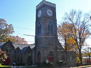 St. Paul's Episcopal Church (Elkins Park, Pennsylvania) - St. Paul's Episcopal Church, November 2011