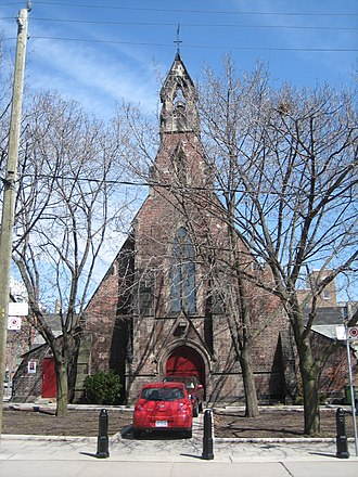 Thomas Fuller (architect) - Image: St Stephen in the Fields Anglican Church, Toronto