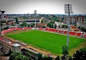 Stadionul Francisc von Neuman - Image: Stadionuta