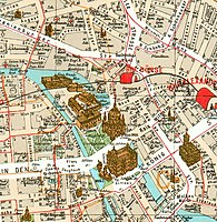 Map of Museumsinsel in 1902