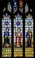 Stained glass window, St Lawrence church, Hawkhurst (15102903727).jpg
