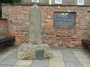 Battle of Stamford Bridge - Village monument