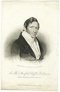 Stamford Raffles 18th-century British statesman who founded Singapore and the British Malaya