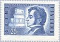 Stamp of Finland - 1955 - Colnect 46196 - 150th Birthday Nervander Johan Jakob Astronomer - Poet.jpeg