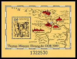 Briefmarken Jahrgang 1989 Der Deutschen Post Der Ddr Wikipedia