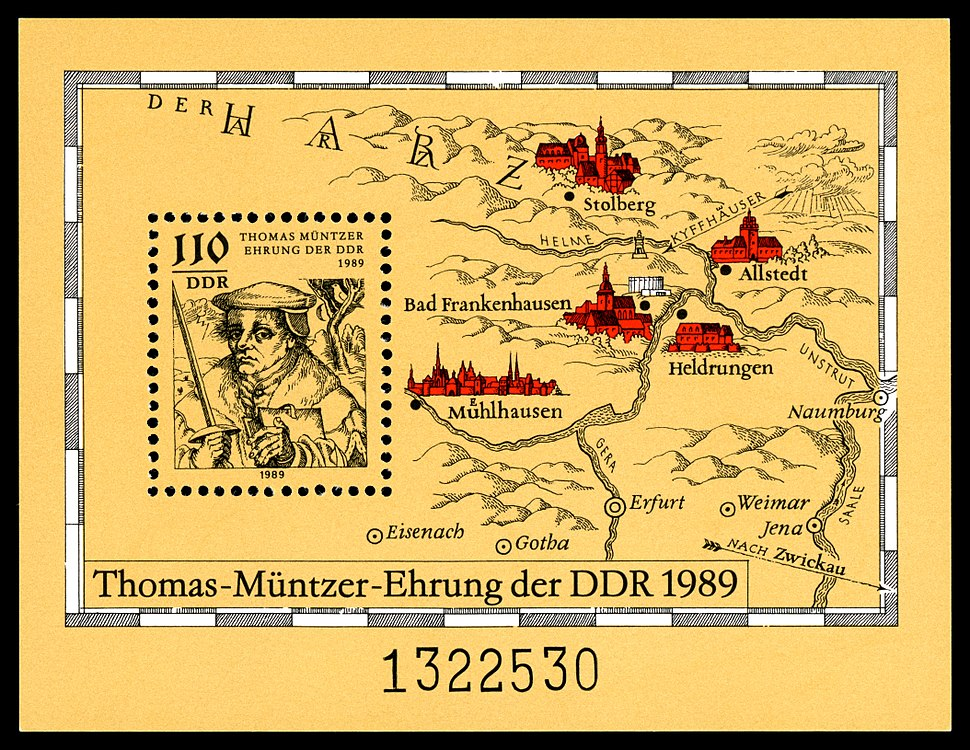 Stamps of Germany (DDR) 1989, MiNr Block 097