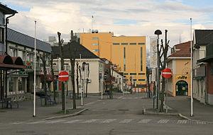 Stange - Image: Stange sentrum