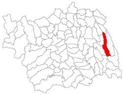 Vị trí của Stanisesti