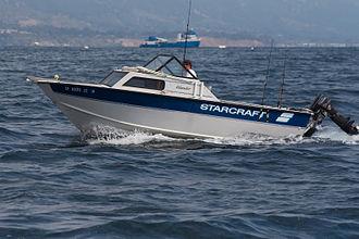 Starcraft Marine - Starcraft Islander near Santa Barbara
