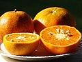Starr-131204-2680-Citrus reticulata-Clementine on left Honey on right-Hawea Pl Olinda-Maui (25202017246).jpg
