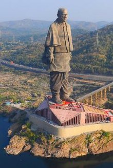 Statue of Unity  IMAGES, GIF, ANIMATED GIF, WALLPAPER, STICKER FOR WHATSAPP & FACEBOOK