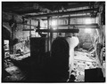 Steam Room interior, first floor, SE view. - Hallowell Mill, Hallowell, Kennebec County, ME HAER ME,6-HAL,9-1.tif