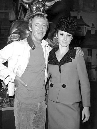 Stefanie Powers - Powers with Noel Harrison in The Girl from U.N.C.L.E.