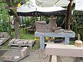 Steinmetz Handwerk beim Mittelalter Markt - panoramio.jpg