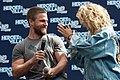 Stephen Amell and Emily Bett Rickards HVFFLondon2017Amell-ALS-11 (34469913224).jpg