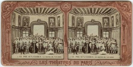 Stereokort, Le Pré aux Clercs 2, La Reine de Navarre - SMV - S86a.tif