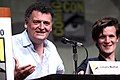 Steven Moffat & Matt Smith (7606550818).jpg