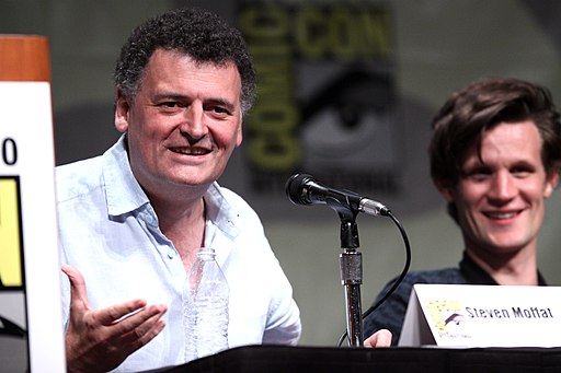 Steven Moffat & Matt Smith (7606550818)