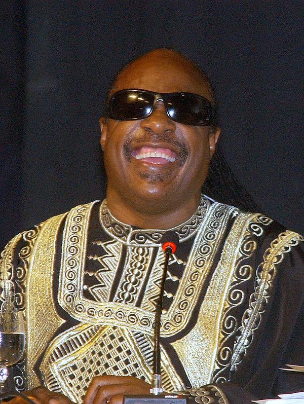 Photo Stevie Wonder via Wikidata