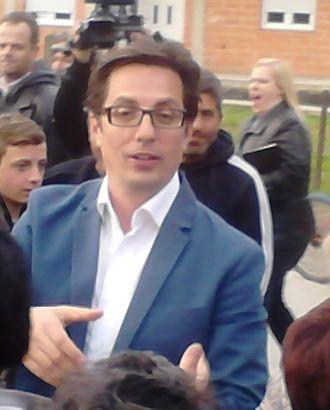 Macedonian general election, 2014 - Image: Stevo Pendarovski