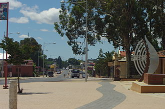 South Western Highway in Waroona