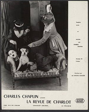 A Dog's Life - Image: Still from Charles Chaplin A Dog's Life 1918 First National Pictures EYE FOT291509
