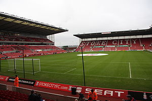 Stoke City F.C. - Stoke moved to the all-seater ground now known as the bet365 Stadium in 1997.