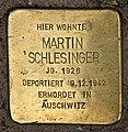 Stolperstein Bartningallee 3 (Hansa) Martin Schlesinger.jpg