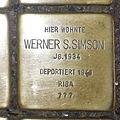 Stolperstein Höxter Westerbachstraße 12 Werner S Simson.jpg