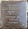 Stolperstein Horstmar Neustraße 5 Ella Slanowitsch.jpg