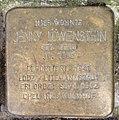 Stolperstein Kleve Tiergartenstraße 24 Jenny Löwenstein.jpg