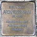 Stolperstein Straßburger Str 60 (Prenz) Aron Süssmann.jpg