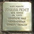 Stolperstein Verden - Johanna Pichet (1872).jpg