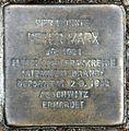 Stolperstein Zikadenweg 49 (Weste) Peter Marx.jpg