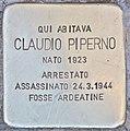 Stolperstein für Claudio Piperno (Rom).jpg