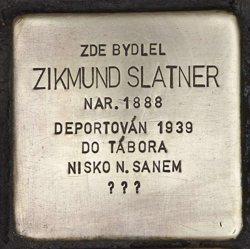 Stolperstein für Zikmund Slatner 2.JPG