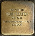 Stolpersteine Köln, Ruth Leufer (Venloer Straße 272).jpg