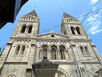 Christianity in Tanzania - St Joseph's Catholic cathedral, Zanzibar
