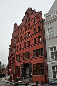 Stralsund, Fährstraße 23 (2012-03-11), by Klugschnacker in Wikipedia.jpg