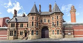 HM Prison Manchester - Image: Strangeways geograph 4634562 by Peter Mc Dermott