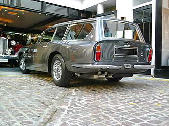 Shooting-brake - 1969-1970 Aston Martin DB6 Vantage Shooting Brake