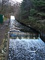 Stronachlachar, Loch Arklet To Loch Katrine Aqueduct Outlet, Weirs And Water Channel.jpg